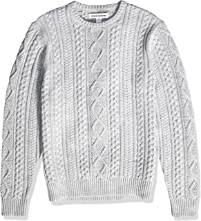 grey knit sweater mens