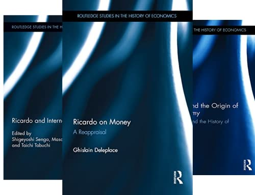 Routledge Studies in the History of Economics (151-192) (42 Book Series)