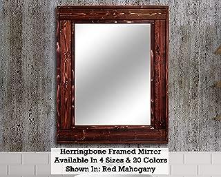 Best mahogany wall mirror Reviews