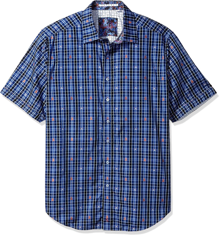 Robert Graham Men's Campfire S/s Classic Fit Shirt