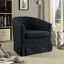 Rosevera Magdalena Barrel Chair with Skirt Bottom