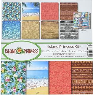 Reminisce (REMBC) Island Princess Scrapbook Collection Kit, Multicolor