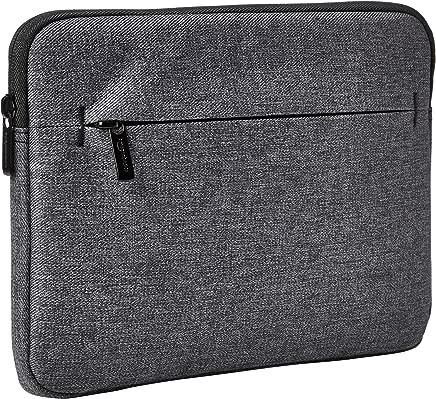 AmazonBasics iPad Tablet Sleeve Case with Front Pocket, 10 Inch, Grey