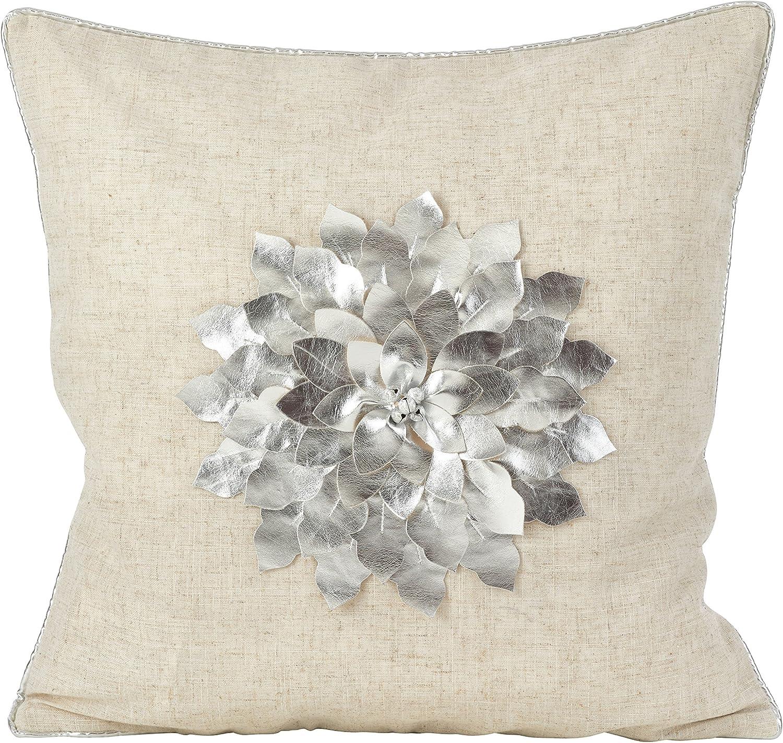 注文後の変更キャンセル返品 SARO LIFESTYLE Metallic Poinsettia Flower Holiday 人気ショップが最安値挑戦 Fi Design Poly