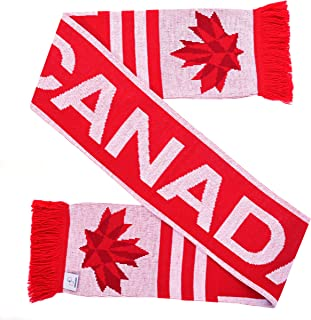 Canada Soccer Knit Scarf