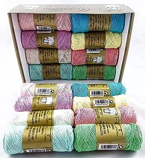 ▷ Pack de 16 Zepelines Ne 5/2 surtido colores claros de algodón ...