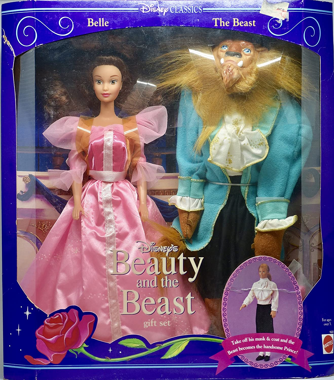 1992 Disney's Beauty and the Beast Doll Giftset