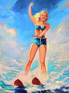 Best vintage water ski decor Reviews