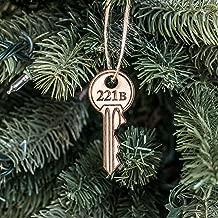Ornament - 221b - Raw Wood 1x3in
