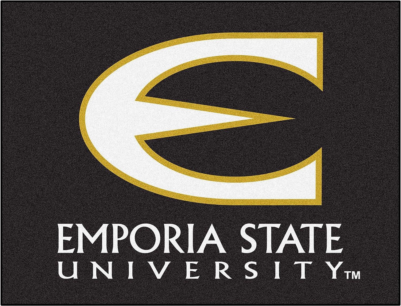 FANMATS NCAA Emporia State University Hornets Nylon Face AllStar Rug