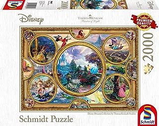Schmidt Thomas Kinkade: Disney - Dreams Collection Jigsaw Puzzle (2000-Piece)