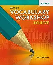 Vocabulary Workshop Achieve Level A Grade 6