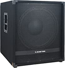 "Sound Town METIS Series 2000W 18"" Powered Subwoofer with DSP (METIS-18SPW)"