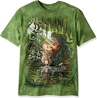 The Mountain Enchanted Tiger Adult T-Shirt