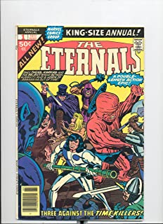Eternals #1 King Size Annual