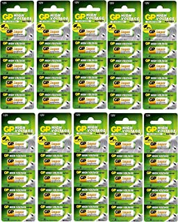 SaleOn™ GP Super 23A Pack of 50 Pieces 12V Alkaline Battery High Voltage Cell Car Remote Battery(50pc)