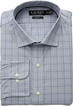 Slim Fit Non Iron Stretch Poplin Dress Shirt