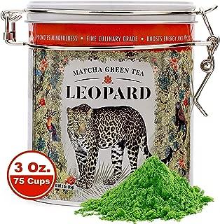 Japanese Matcha Green Tea Powder. USDA Organic. First Harvest. High levels of Antioxidants and Amino Acids. (Matcha Green Tea, 3 Ounce)