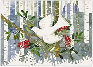 Dove & Holly Deluxe Boxed Holiday Cards (Christmas Cards, Greeting Cards)