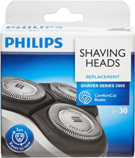 Philips ShaverSeries 3000 Replacement Electric Shaving Head - Fits S3000 (S3xxx), S1000 (S1xxx) & Star Wars Shaver SW37xx - Shaving Head Model SH30/51