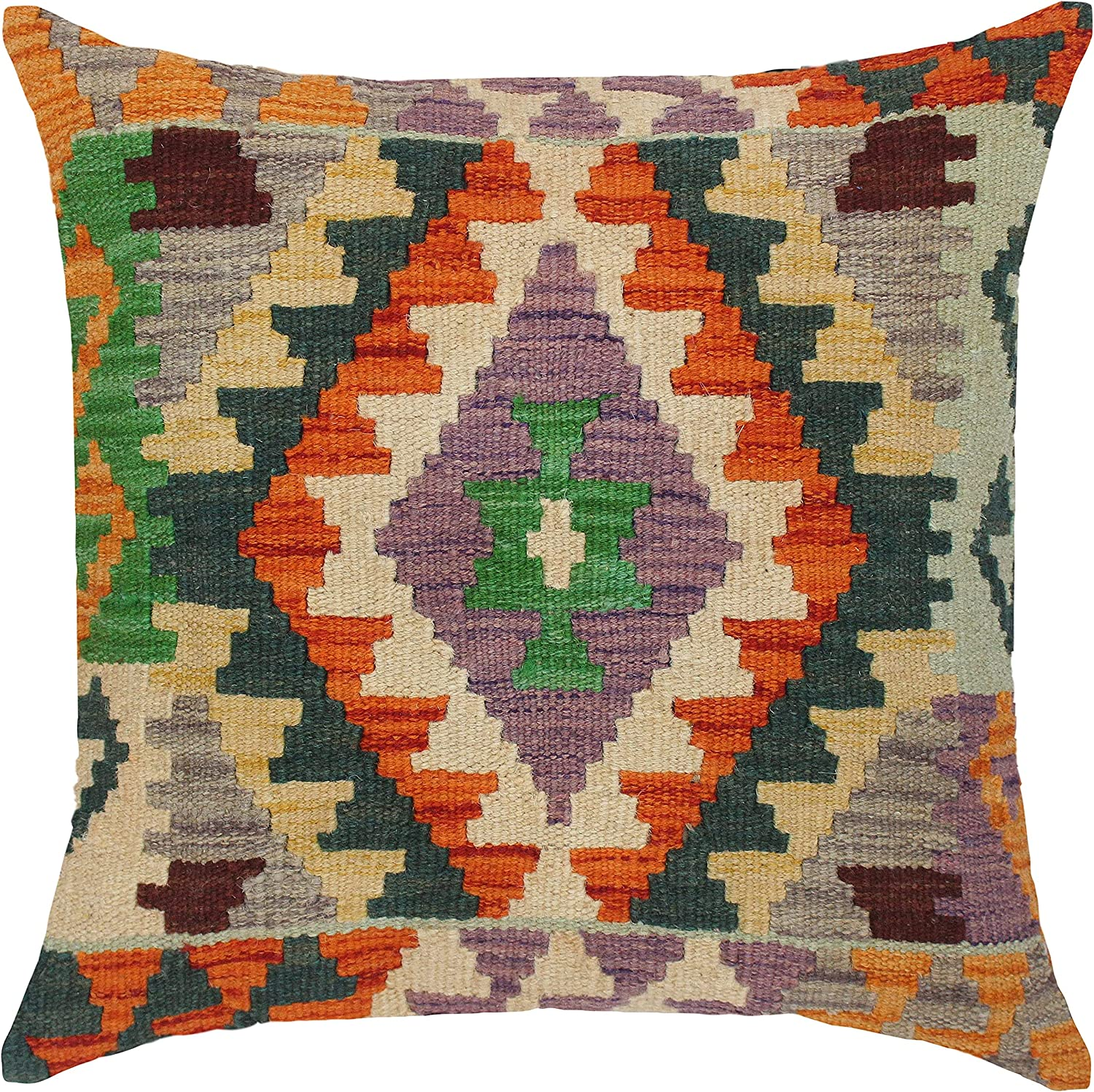 Southwestern Turkish y Hand Kilim Throw Pillow Woven Max 80% 2021new shipping free shipping OFF