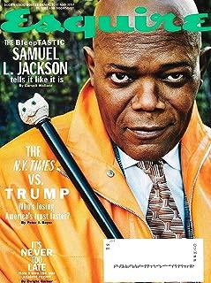 Esquire Magazine (April, 2019) Samuel L. Jackson Cover