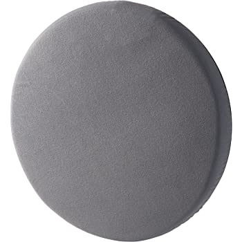 HealthSmart Swivel Seat Cushion assists with 360 Degree Turns to facilitate Transitions to Sitting or Standing, Gray, 15 Inches in Diameter, 15 Diameter (513-1994-0355)