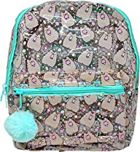Officially Licensed Pusheen Character All Over Popsicle Print PVC Mini Backpack