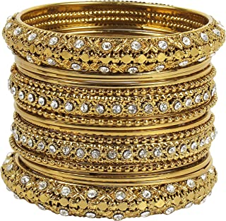 MUCH-MORE Indian Bollywood Beautiful Collection Matt Color Bangles for Women