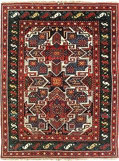 Pasargad Pak Kazak Lamb's Wool Rug - 5'6
