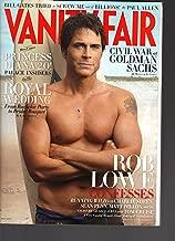 Vanity Fair May 2011 Rob Lowe Royal Wedding Bill Gates Charlie Sheen Sean Penn Tom Cruise