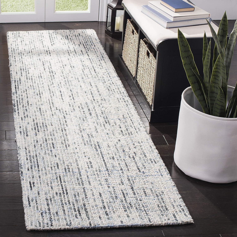 Safavieh Abstract Collection ABT468B Wool Max 54% OFF Runne Premium San Diego Mall Handmade