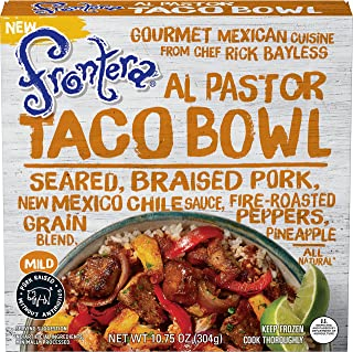 FRONTERA Al Pastor Pork Taco Bowl Frozen Meal, Mild, 10.75 oz.