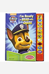 Paw Patrol - I'm Ready To Read with Chase Sound Book - Play-a-Sound - PI Kids Hardcover