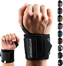"""Fitgriff® Wrist Wraps 18"""" - Wrist Support for Gym, Weightlifting, Crossfit, Strength Training, Fitness - for Men and Women"""