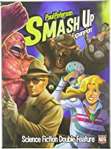 smash up science fiction double feature cards