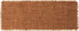 Country House Collection Primitive Burlap Table Runner - 36'' x 13'' (Cocoa)