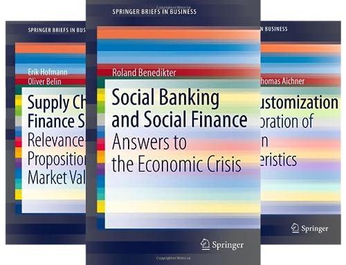 SpringerBriefs in Business (50 Book Series)