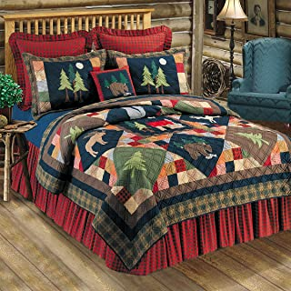 C&F Home Timberline Collection Twin Quilt, 64 by 86-Inch