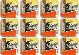 Pine Tree Farms 12 Pack Woodpecker High Energy Suet 11oz. 6011 Made in USA
