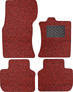 Nicoman B3707-JAGUAR-XF-X260-BR-FU Spaghetti All-Weather Fully Tailored Car mats Fit-2016-2019 XF Saloon/Estate X260, Red ...