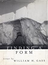 Finding a Form: Essays