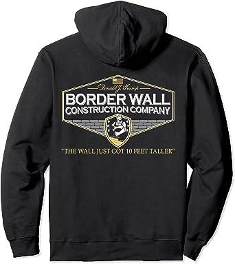 Trump On The Wall Hoodie