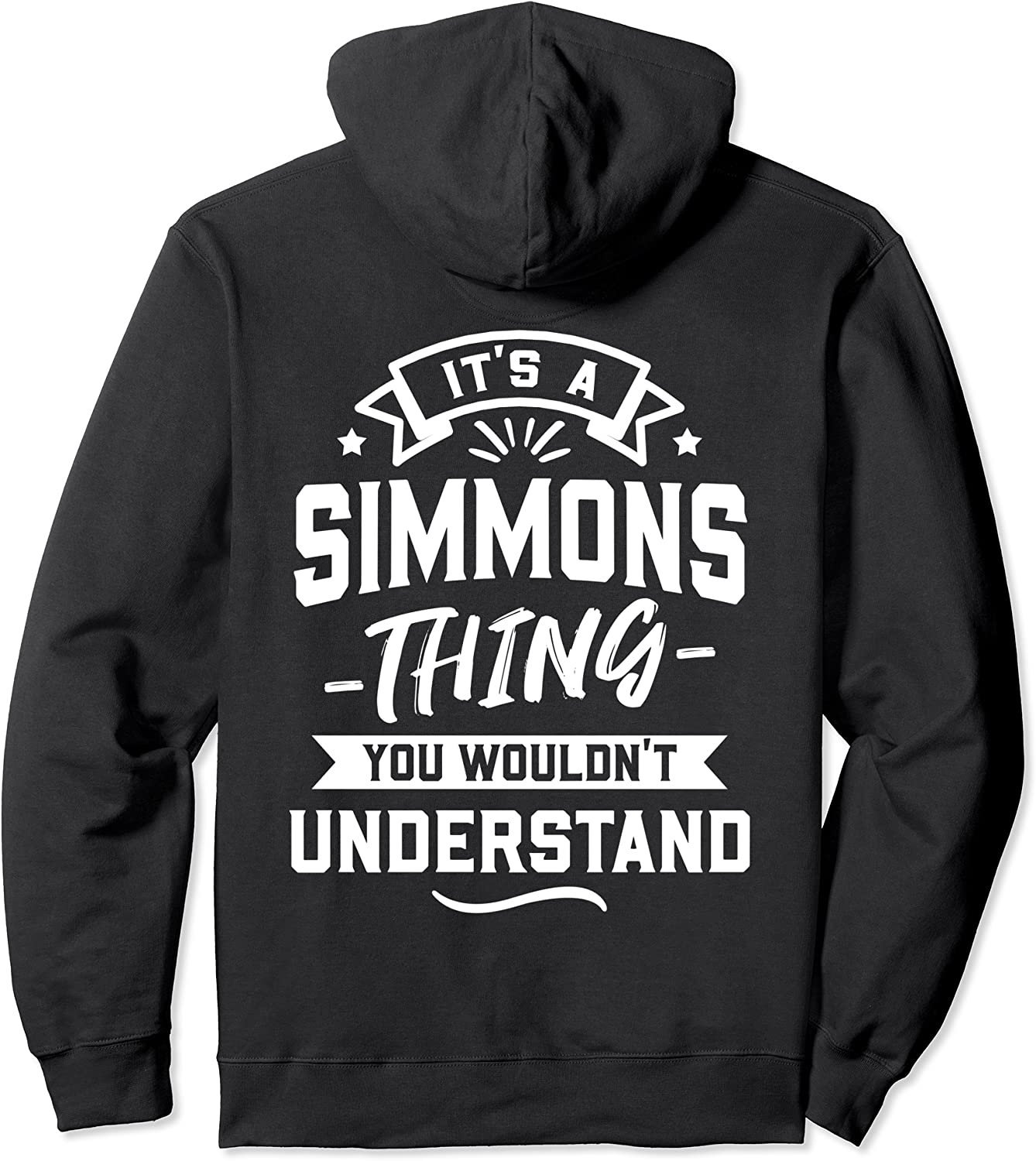 It's A Simmons Thing You Wouldn't 本店 Gift 未使用品 - Surname Pull Understand