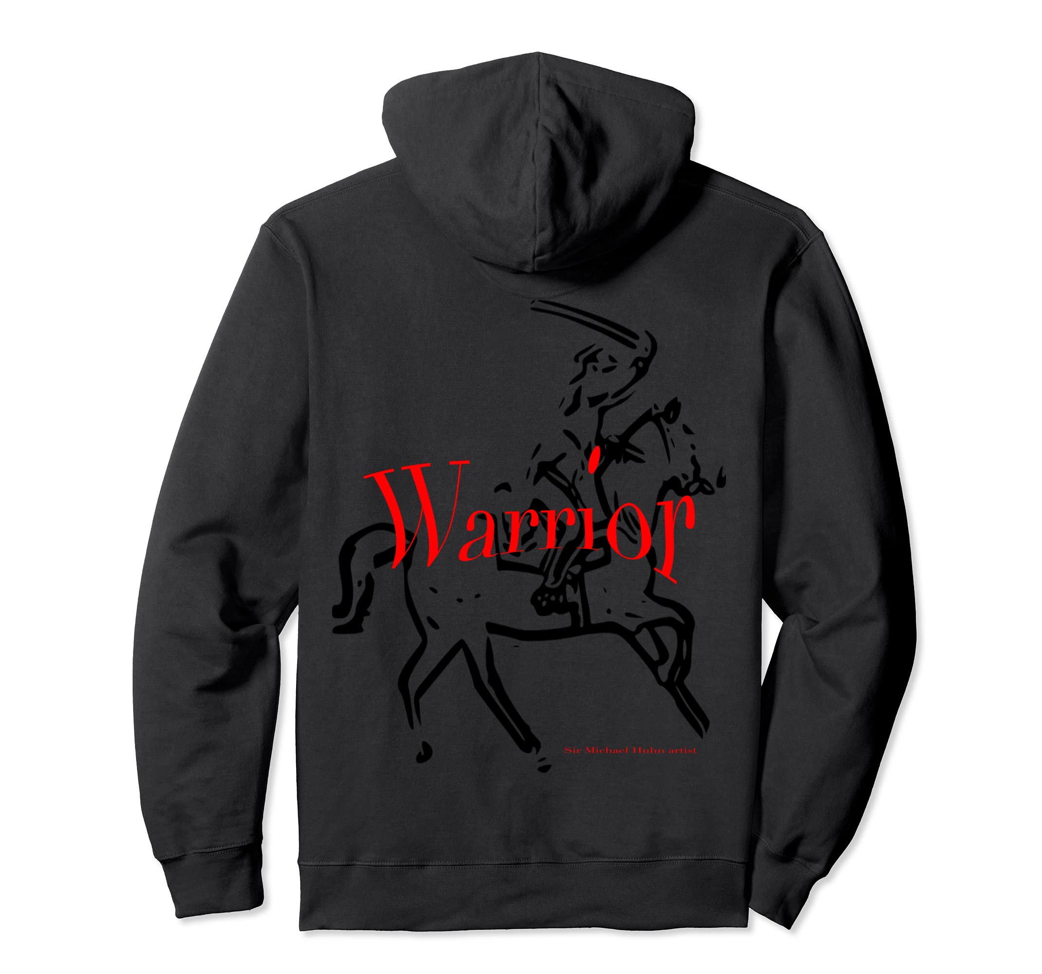 classic sir Michael Huhn Artist officical warrior hoodie-azvn