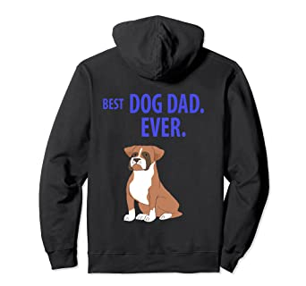 24068e63 Image Unavailable. Image not available for. Color: BEST DOG DAD EVER Funny  Boxer ...