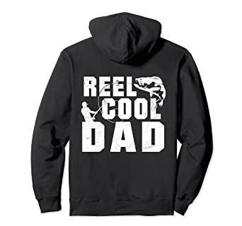 61ee8cb4e Image Unavailable. Image not available for. Color: Reel Cool Dad Fishing  Hoodie ...