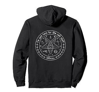 BuzzFeed Unsolved Cult Stuff Hooded Sweatshirt