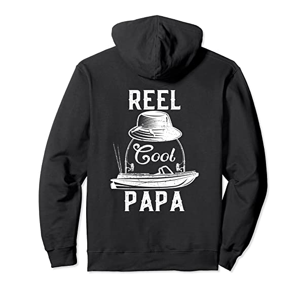 Reel Cool Papa Vintage Fisherman Dad Father S Day Gift Pullover Shirts
