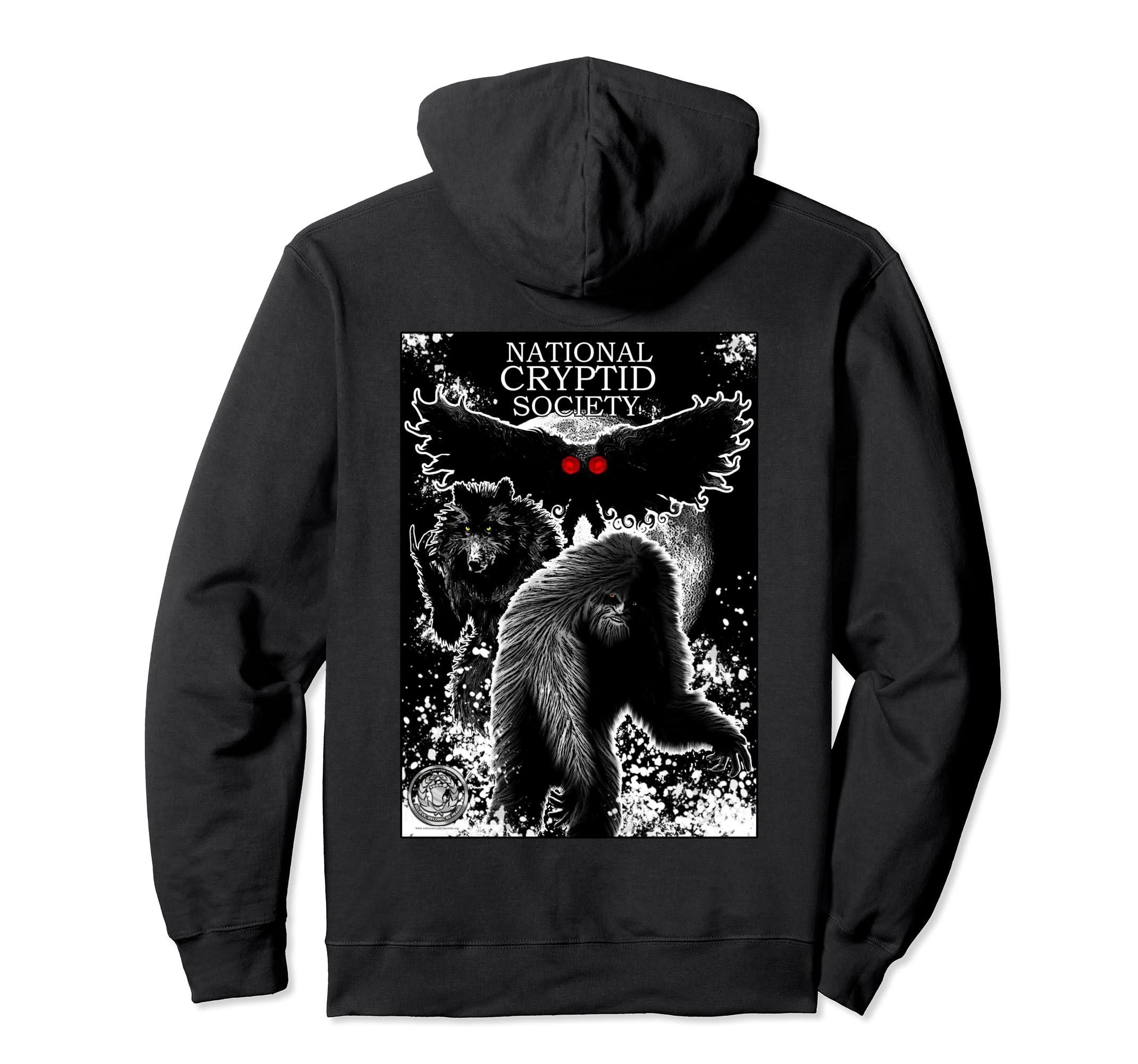 Amazon com: Bigfoot Dogman Mothman National Cryptid Society